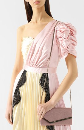 Клатч Emmie Jimmy Choo розового цвета | Фото №5