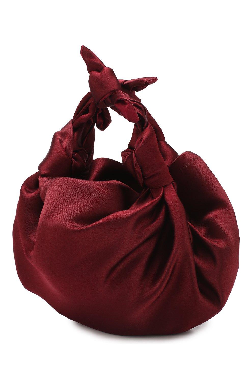Сумка Ascot  The Row бордового цвета | Фото №3