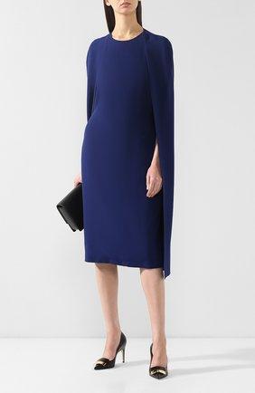 Женская кожаные туфли  SERGIO ROSSI черного цвета, арт. A78953-MAGN05 | Фото 2