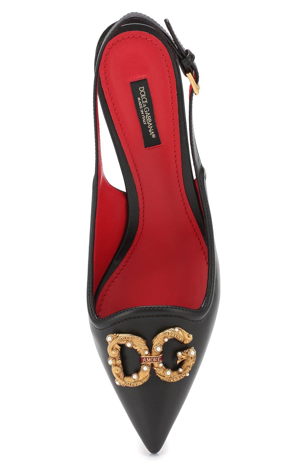 Кожаные туфли Lori  | Фото №5