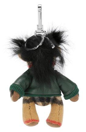 Брелок Thomas Bear Burberry зеленый | Фото №2