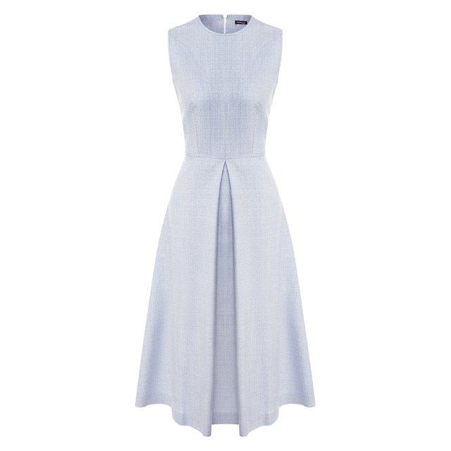 Платье из смеси кашемира и шелка Kiton