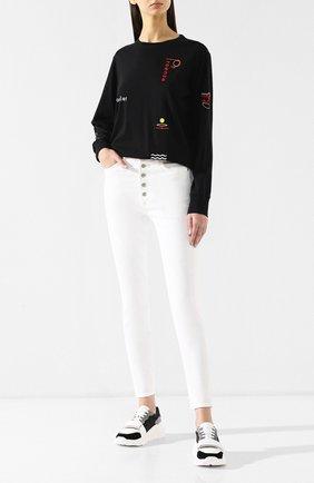 Женские джинсы-скинни CITIZENS OF HUMANITY белого цвета, арт. 1742-3001 | Фото 2