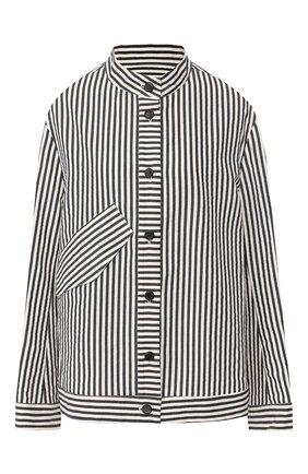 Куртка из смеси хлопка и шелка | Фото №1