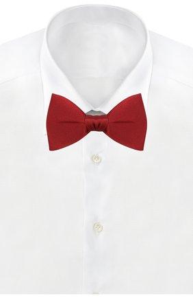 Мужской шелковый галстук-бабочка LANVIN бордового цвета, арт. 1282/B0W TIE | Фото 2