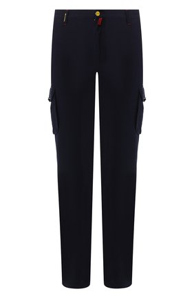 Мужские джинсы прямого кроя KITON темно-синего цвета, арт. UFPPCA/J07R74 | Фото 1