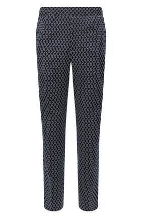 Мужской хлопковые брюки GUCCI темно-синего цвета, арт. 552578/ZAAE0 | Фото 1