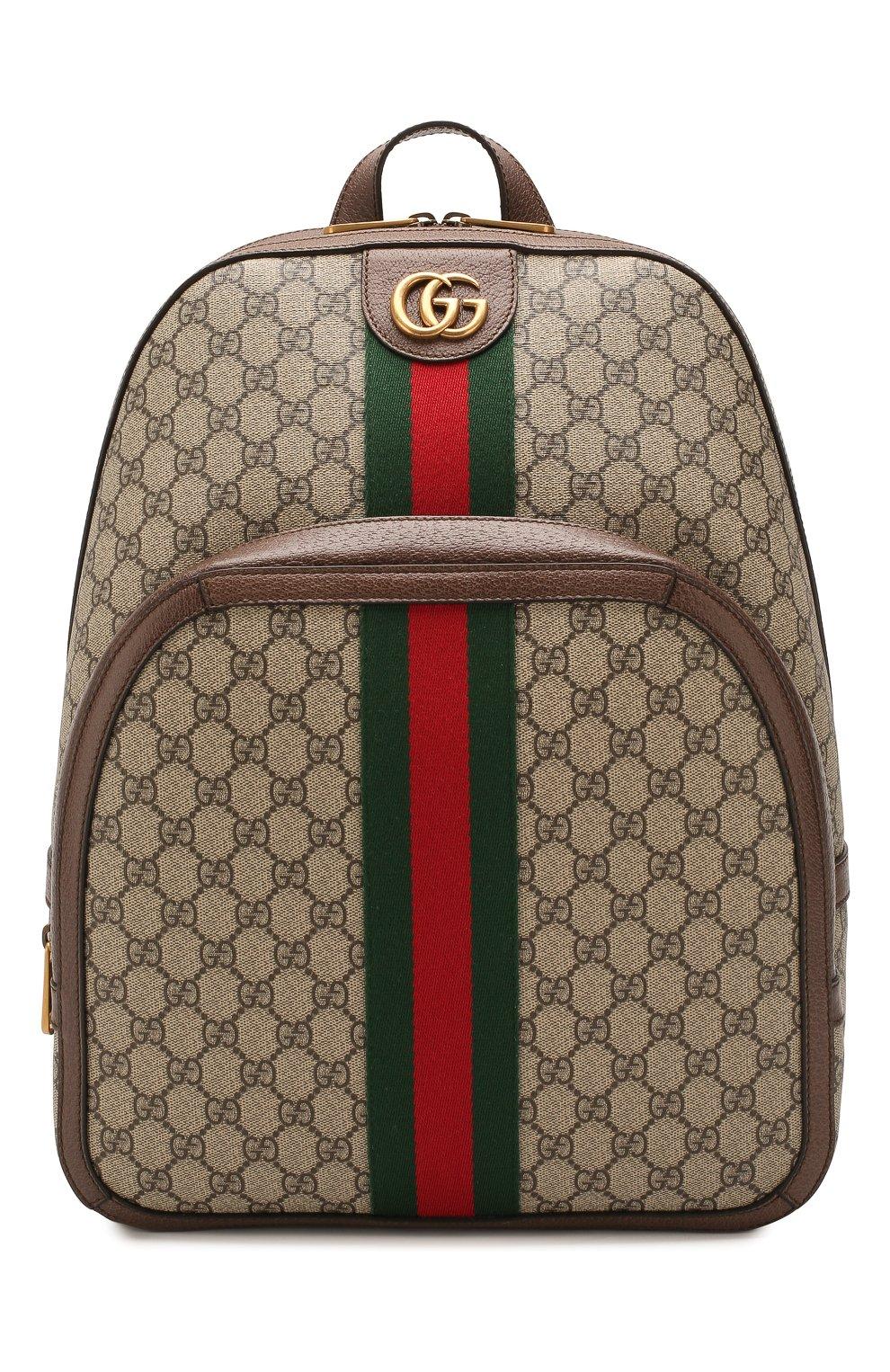 Рюкзак Ophidia GG Gucci бежевый  2418d54fb38fc
