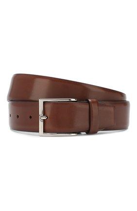 Мужской кожаный ремень BARRETT светло-коричневого цвета, арт. 82B547.11/EVERT0N | Фото 1