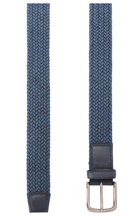 Мужской хлопковый ремень BARRETT синего цвета, арт. 91B555.1/ELASTIC0 | Фото 2