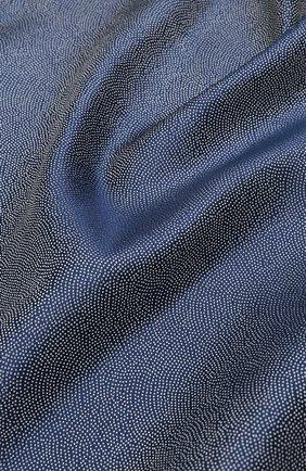 Мужской шелковый платок GIORGIO ARMANI сиреневого цвета, арт. 360023/9P937 | Фото 2