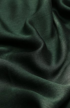 Мужской шарф из вискозы GIORGIO ARMANI темно-зеленого цвета, арт. 745205/9P107 | Фото 2