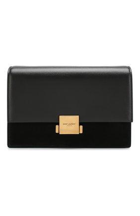 Женская сумка bellechasse medium SAINT LAURENT черного цвета, арт. 482044/D423W | Фото 1