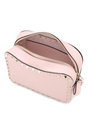 Сумка Valentino Garavani Rockstud  Valentino светло-розовая цвета | Фото №4