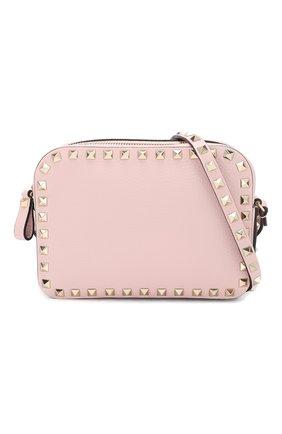 Сумка Valentino Garavani Rockstud  Valentino светло-розовая цвета | Фото №5