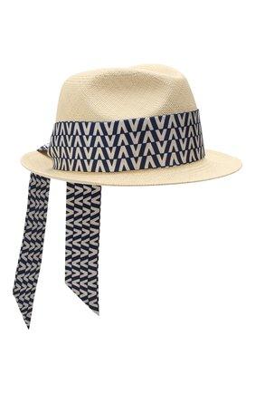 Соломенная шляпа Valentino Garavani | Фото №1