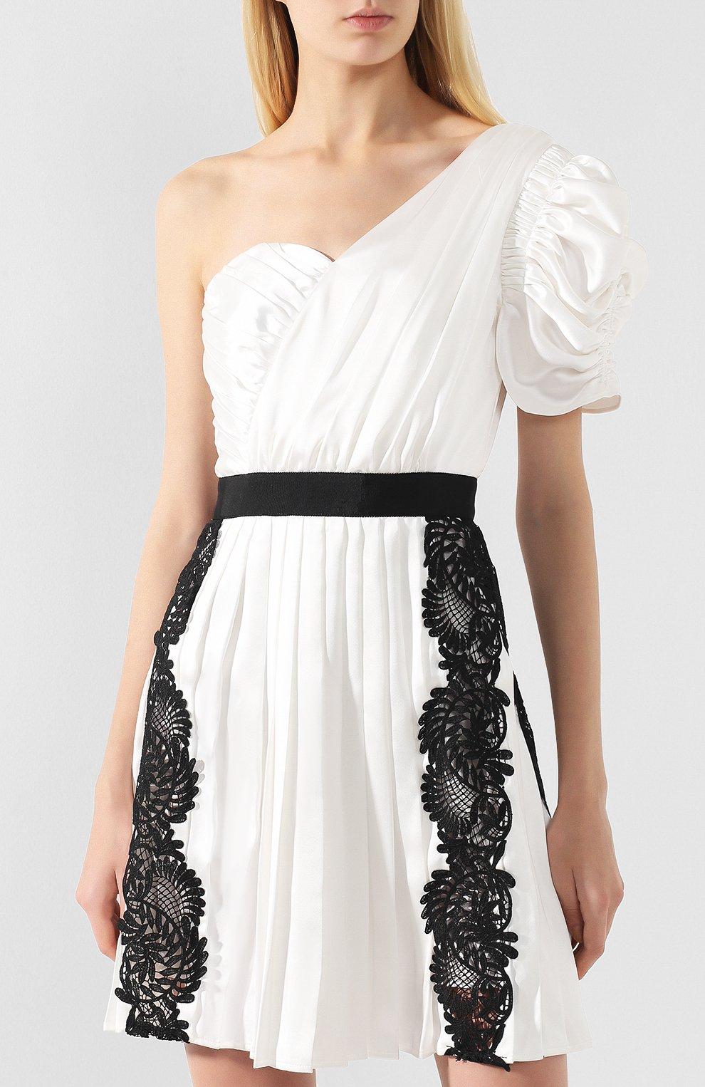 Платье с кружевной отделкой | Фото №3