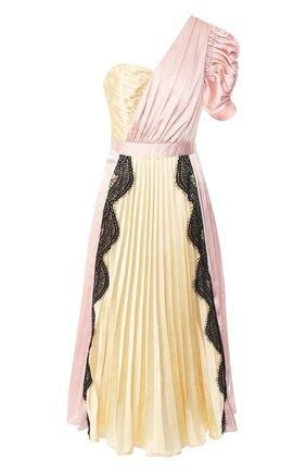 Плиссированное платье-миди | Фото №1