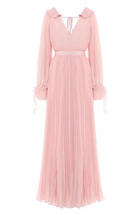 Плиссированное платье-макси | Фото №1