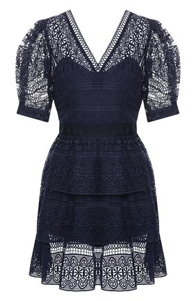Кружевное мини-платье | Фото №1