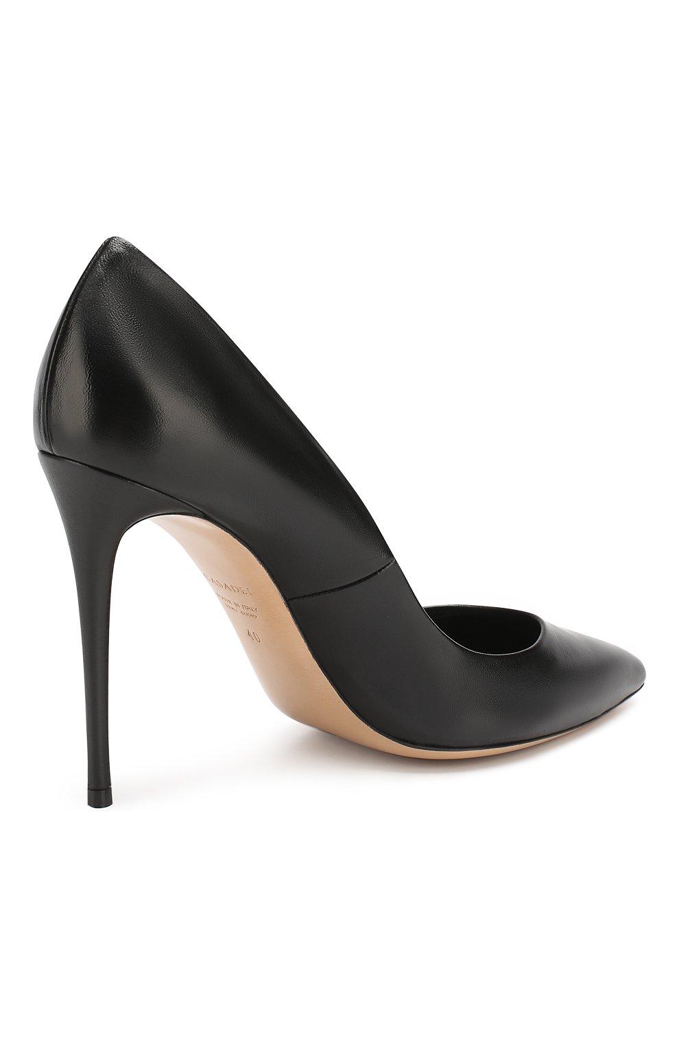Кожаные туфли Julia | Фото №4