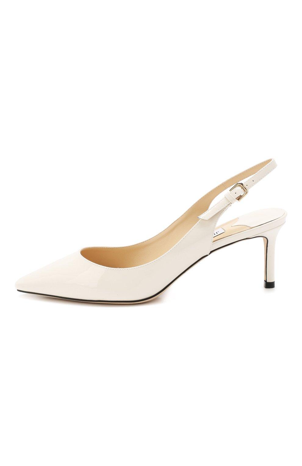Женские лаковые туфли erin 60 JIMMY CHOO белого цвета, арт. ERIN 60/PAT | Фото 3