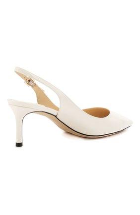 Женские лаковые туфли erin 60 JIMMY CHOO белого цвета, арт. ERIN 60/PAT | Фото 4