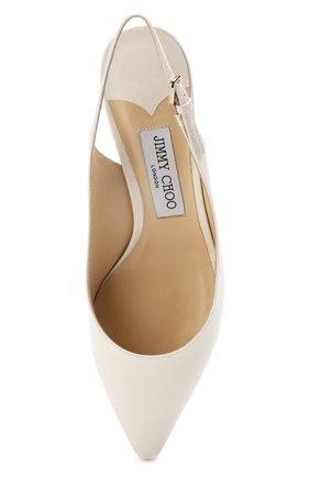 Женские лаковые туфли erin 60 JIMMY CHOO белого цвета, арт. ERIN 60/PAT | Фото 5