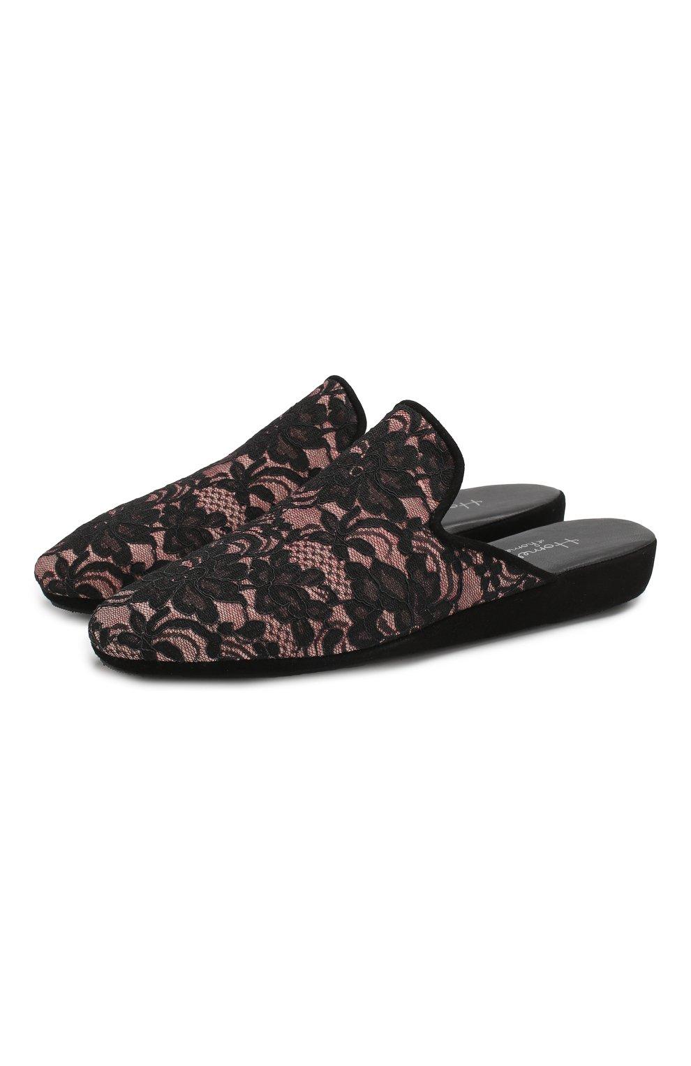 Домашние кружевные туфли   Фото №1