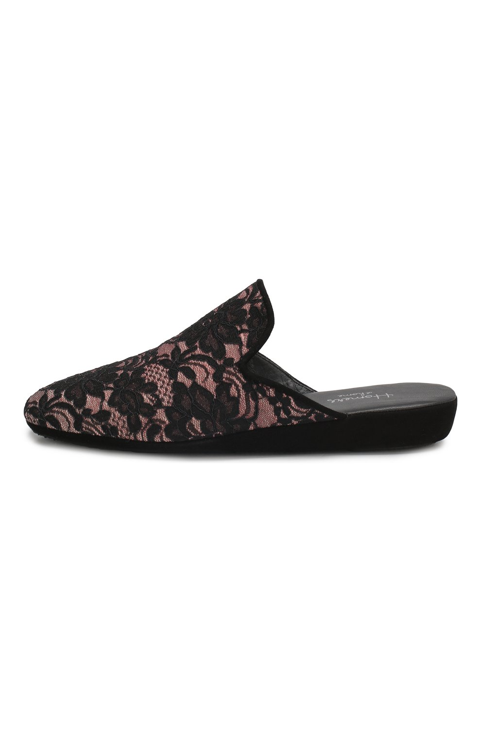 Домашние кружевные туфли   Фото №3