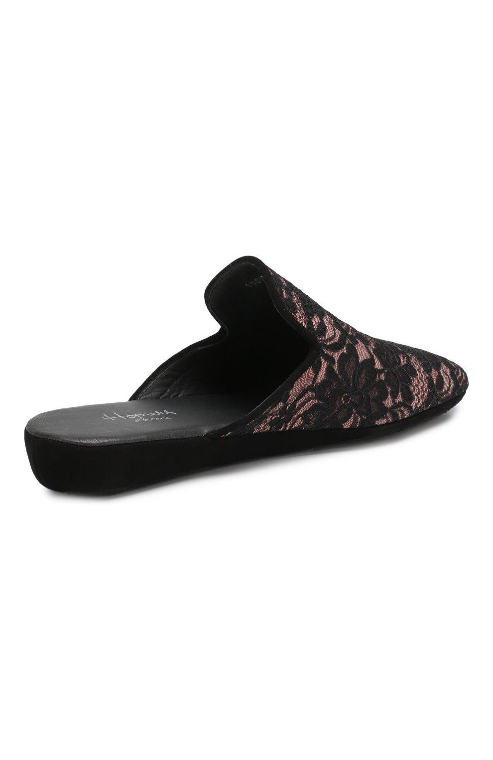 Домашние кружевные туфли   Фото №4