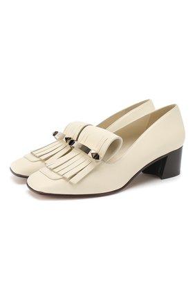 Кожаные туфли Valentino Garavani Uptown | Фото №1