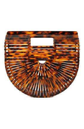 Женская сумка ark mini CULT GAIA темно-коричневого цвета, арт. 20002AC TRT | Фото 1