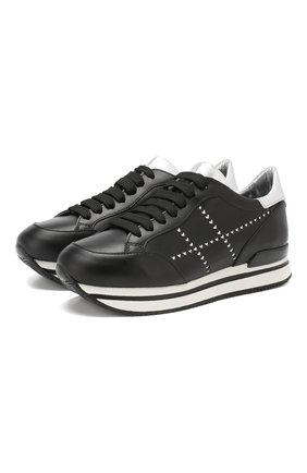 Кожаные кроссовки | Фото №1