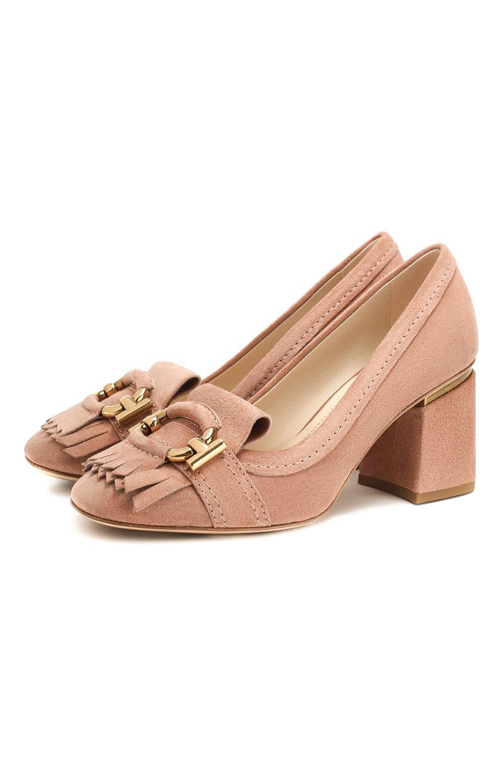 Замшевые туфли   Фото №1