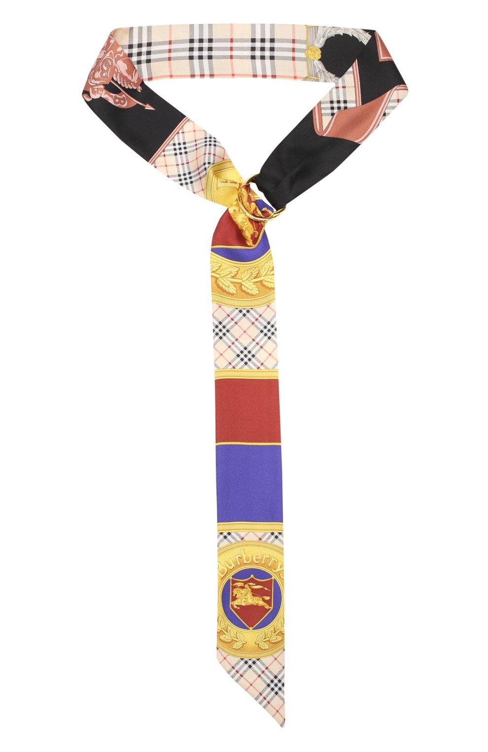 Шелковый шарф-бандо   Фото №1
