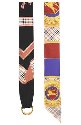 Шелковый шарф-бандо   Фото №2