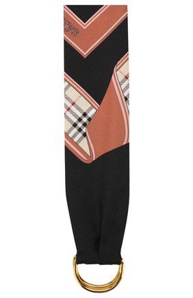 Шелковый шарф-бандо   Фото №3