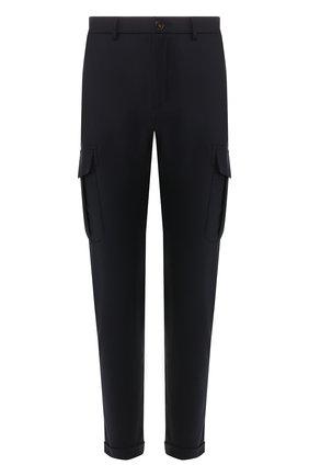 Шерстяные брюки-карго | Фото №1