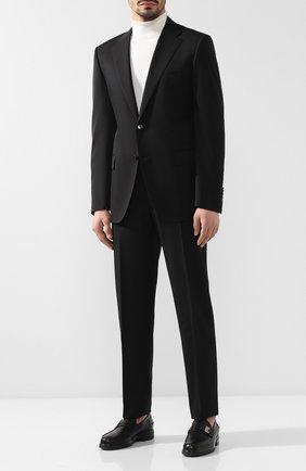 Мужской шерстяной костюм CORNELIANI черного цвета, арт. 837315-9118150/92 Q1 | Фото 1