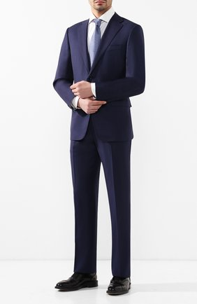 Мужской шерстяной костюм CORNELIANI синего цвета, арт. 837315-9117087/92 Q1 | Фото 1