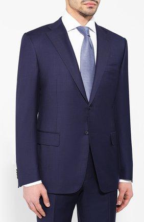 Мужской шерстяной костюм CORNELIANI синего цвета, арт. 837315-9117087/92 Q1 | Фото 2