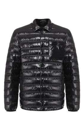 Мужская пуховая куртка Z ZEGNA черного цвета, арт. VS023/ZZ110 | Фото 1