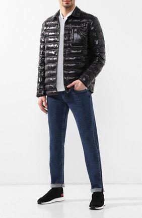 Мужская пуховая куртка Z ZEGNA черного цвета, арт. VS023/ZZ110 | Фото 2