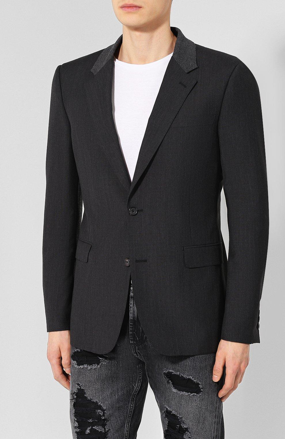 Шерстяной пиджак   Фото №3