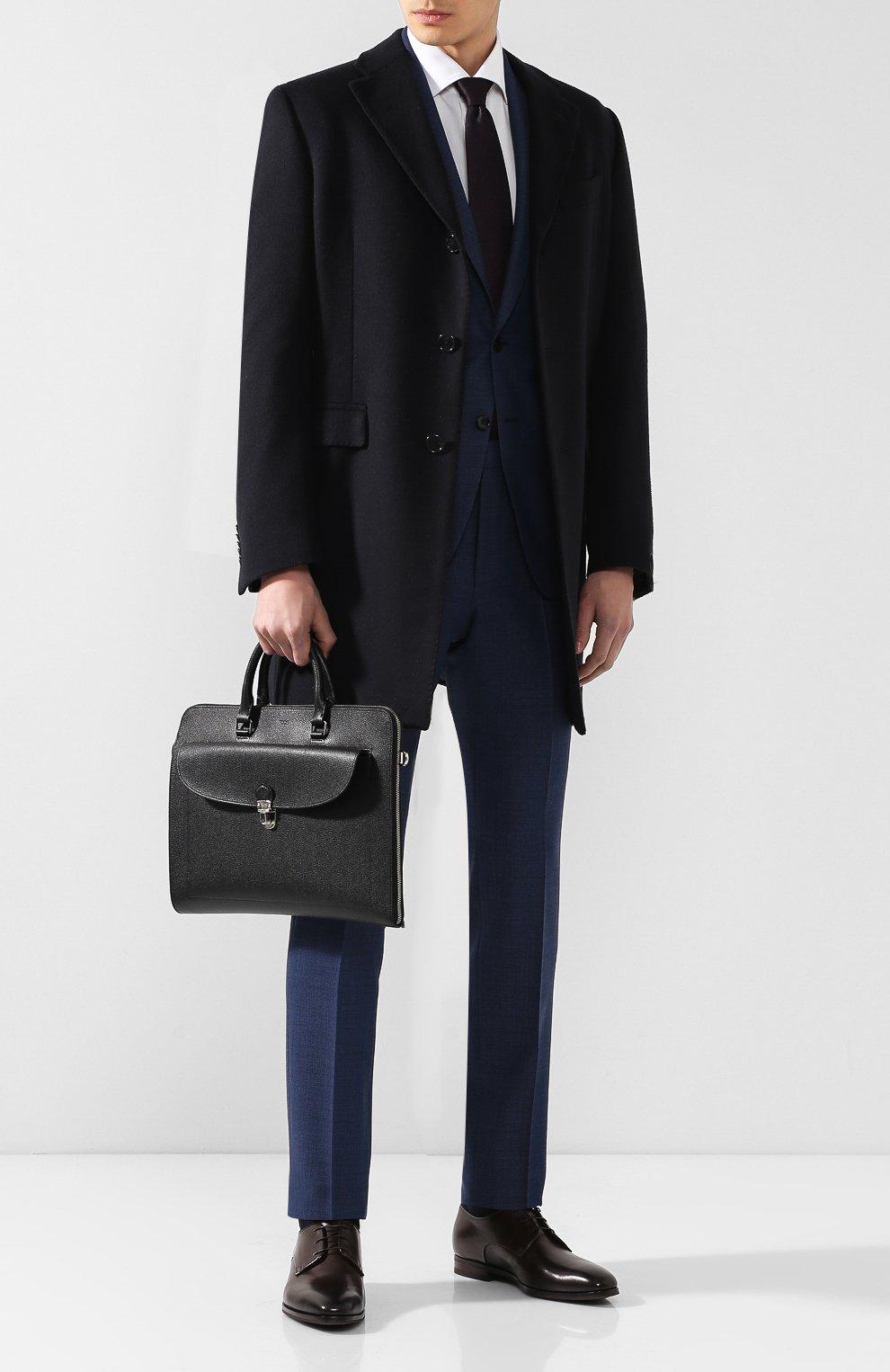 Кожаный портфель | Фото №2