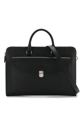 Кожаный портфель | Фото №6