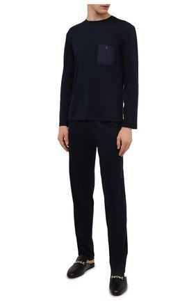 Мужские домашние брюки ZIMMERLI темно-синего цвета, арт. 8520-21092 | Фото 2