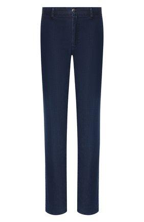 Мужские джинсы прямого кроя ZILLI темно-синего цвета, арт. MCR-00050-DEUL1/R001 | Фото 1