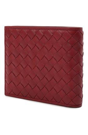 Мужской кожаное портмоне BOTTEGA VENETA бордового цвета, арт. 113993/V4651 | Фото 2